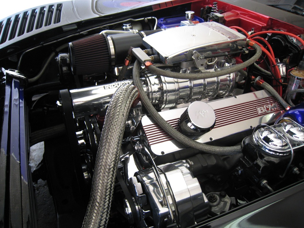 Sicuranza 1980 Corvette, engine